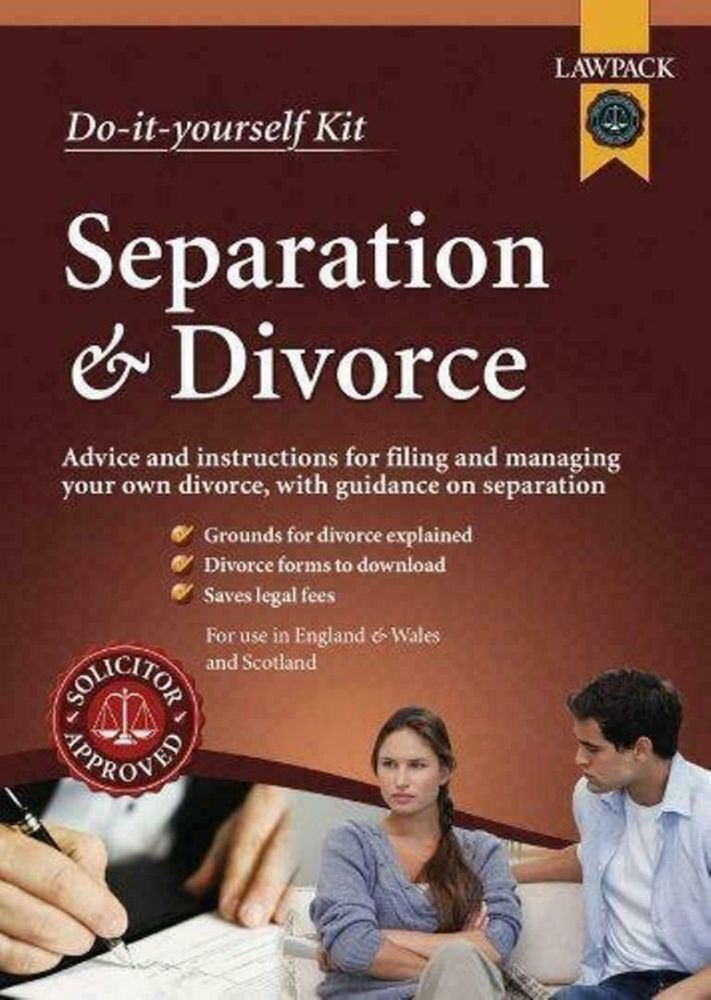 Separation and Divorce Kit Advice and Instructions for Filing and Managing p11